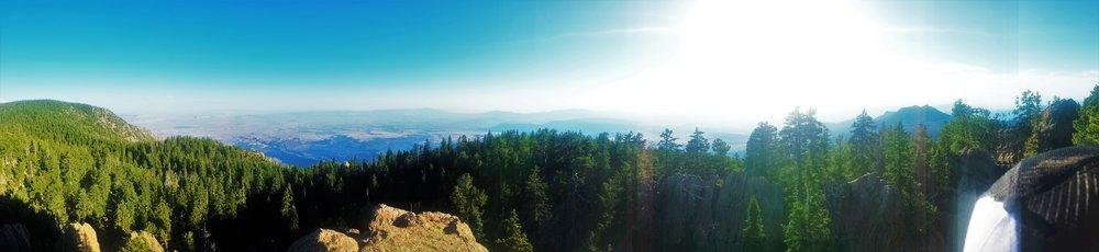 Burger Peak, Pine Valley Mountain (10,320 feet)