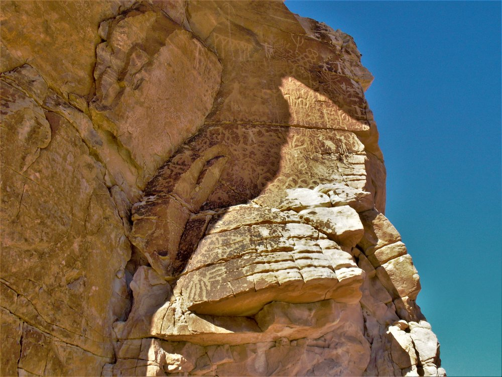 Petroglyphs, Nevada Desert