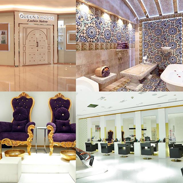 Take care of your skin, hair, nails and body all at Queen's House Salon in Wafi Mall. 20% off for your first visit. . . #dubaifashion #dubaisalon #moroccanbath #dubaimoroccanbath #turkishhammam #hammam #bodyscrub #pamperyourself #glam #gorgeous