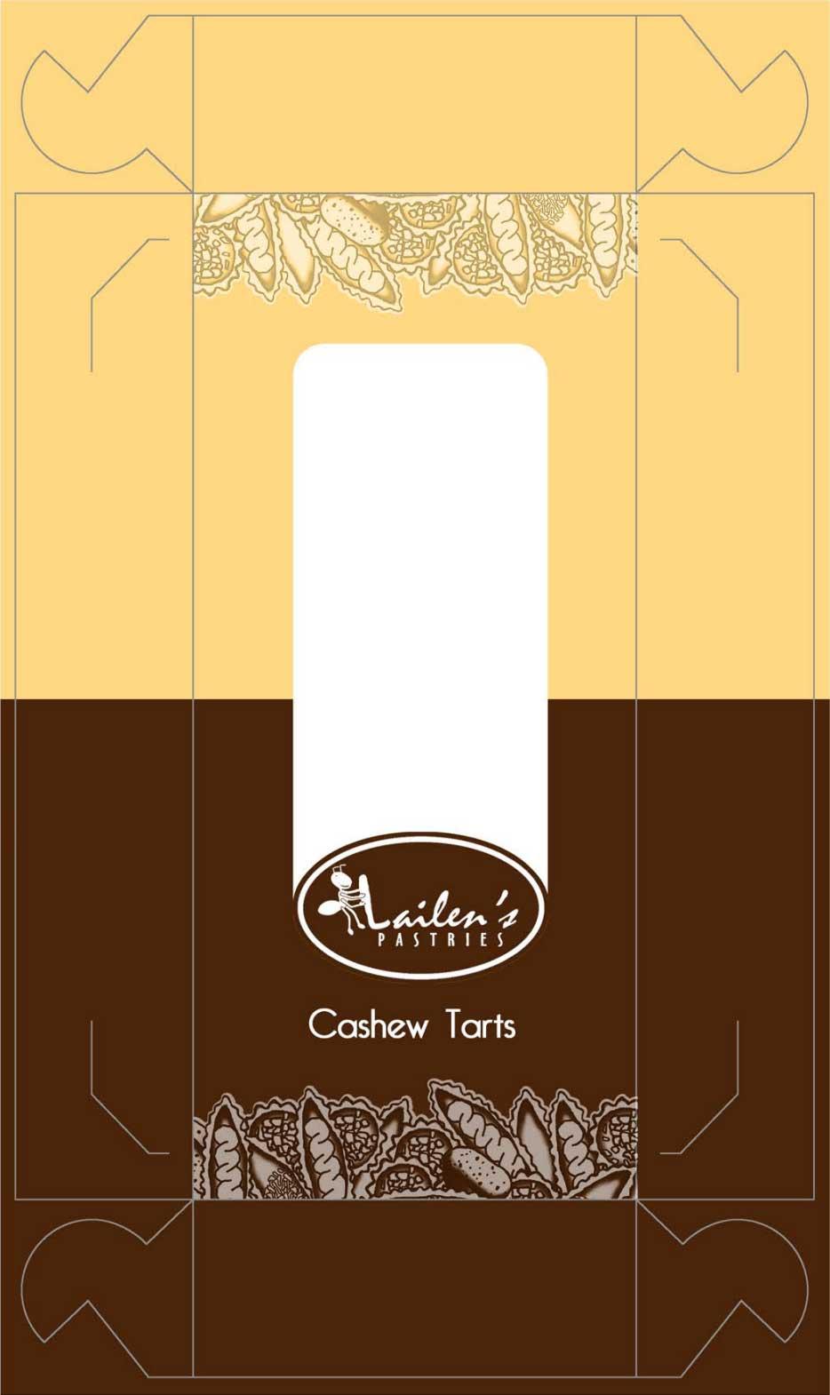 Lailen's Pastries' old box design.
