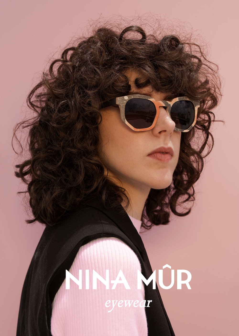 Art Direction — Paula Caballero  ———  Client — Nina Mur Eyewear  Photo — Ana Alcocer  Model — Brianda Fitz James Stuart  Make Up — Fer Martinez mk  Styling — Sandrinne Gingembre