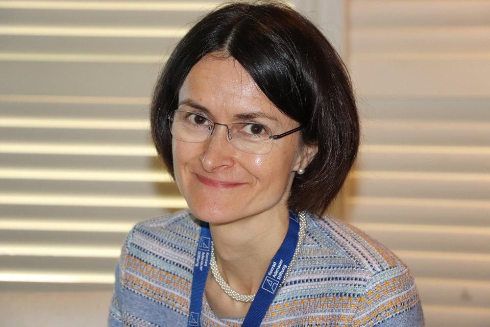 Gisela Elsner, Director, Rule of Law Program in Asia for KAS