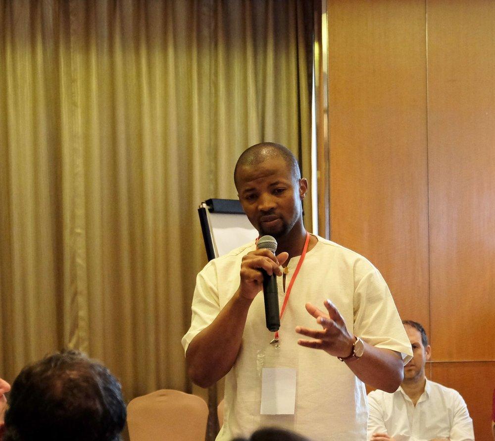 Nqabayomzi Kwankwa, MP South Africa and Chair, AfriPAHR Steering Committee