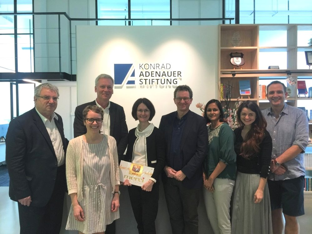 IPPFoRB together with Konrad Adenauer Stiftung (Singapore Office) and the leadership of the Norwegian Helsinki Committee in Singapore.