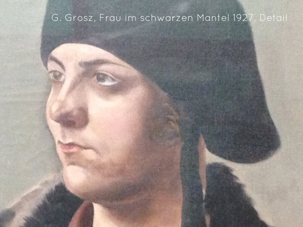 George Grosz Frau mit schwarzem Mantel III.jpg