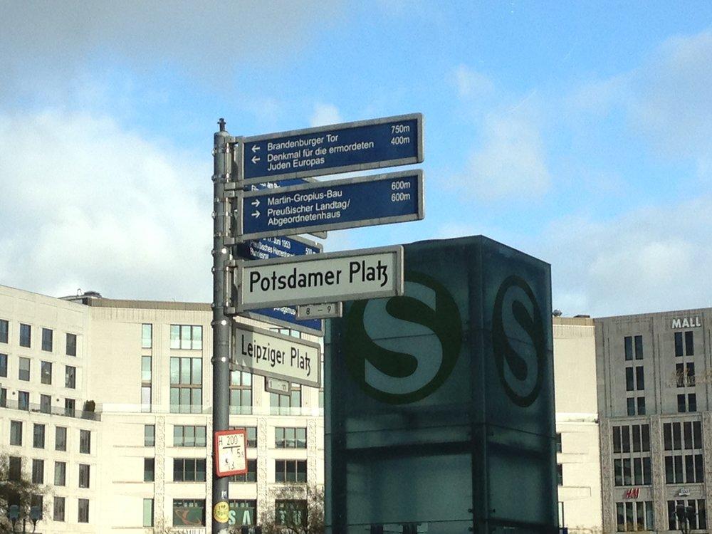 Berlin, mittendrin.