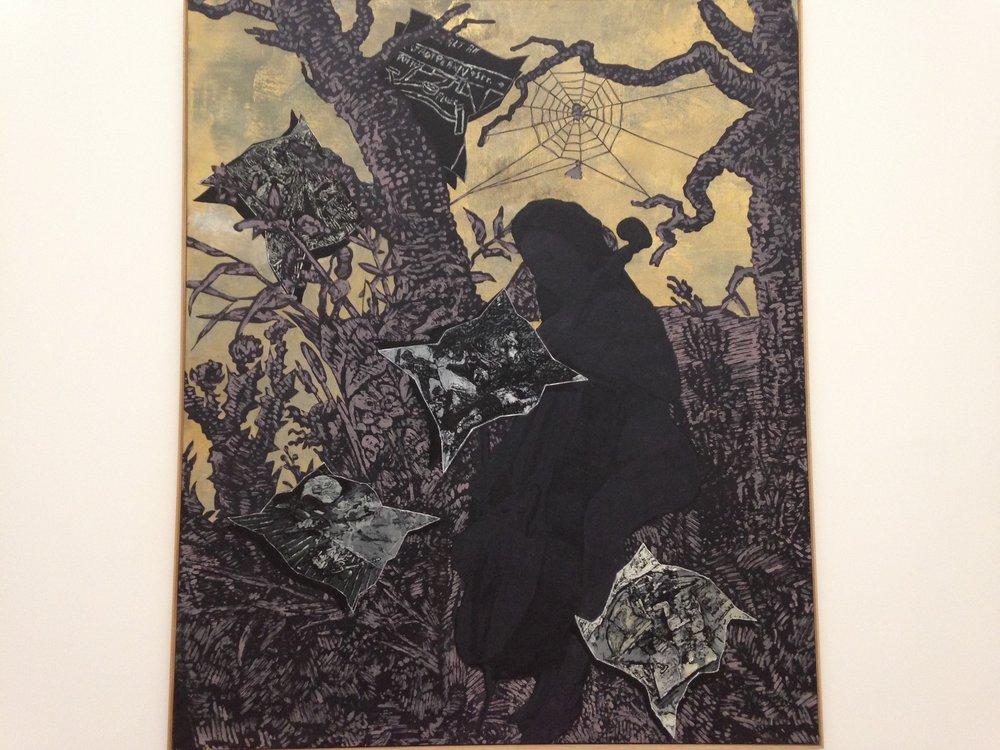 'Ohne Titel II' - Entstanden 2007, war Immendorff noch bis kurz vor seinem Tod am 28. Mai auf eine sehr berührende Art künstlerisch tätig.