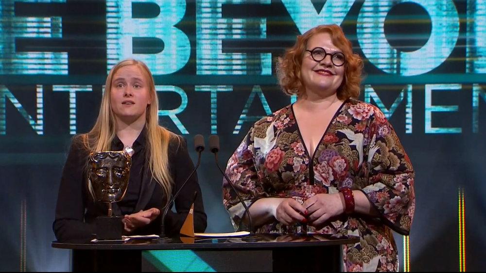 Foto: Skjermdump fra BAFTA Games Awards 2019
