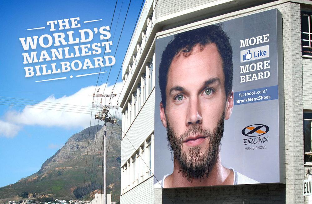 Bronx – The World's Manliest Billboard