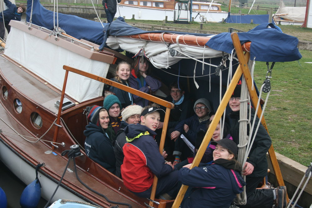 broads yacht sailing on christian Adventure holiday