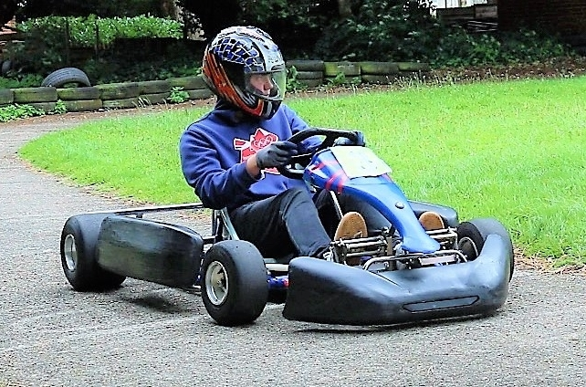 Christian adventure holiday karting activity