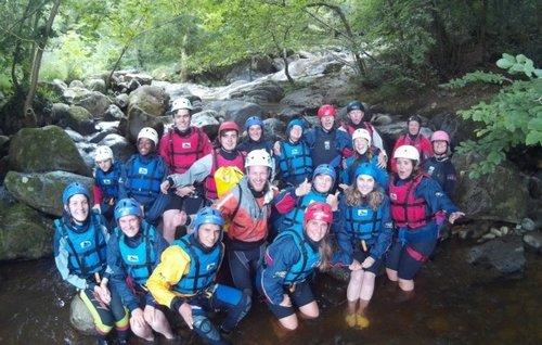 climbing and kayaking adventure