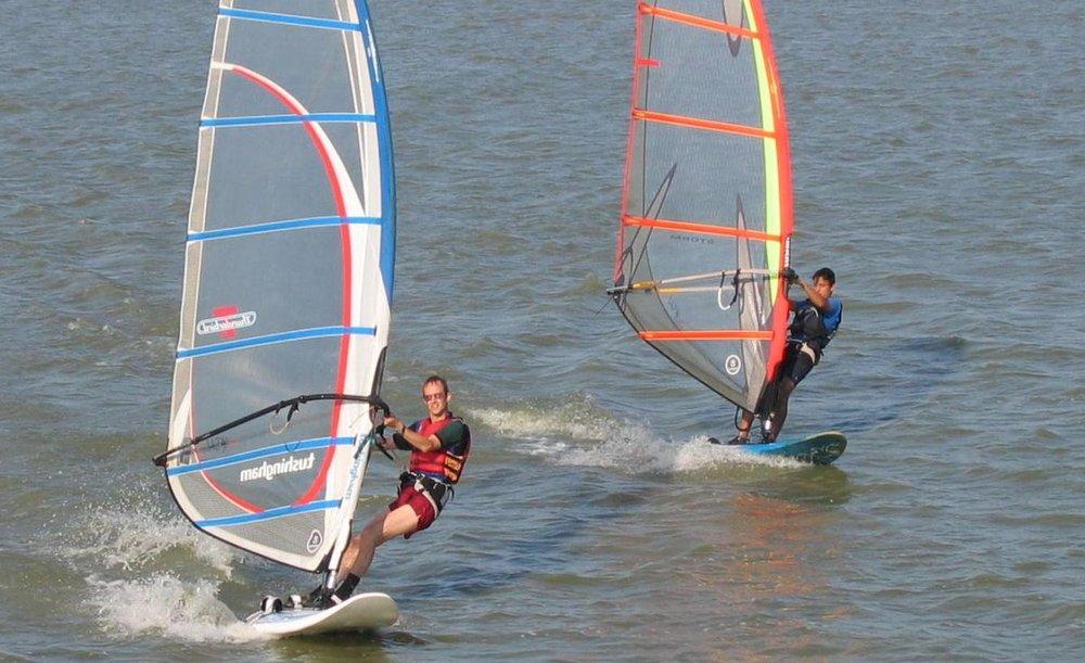Windsurfing activity holiday