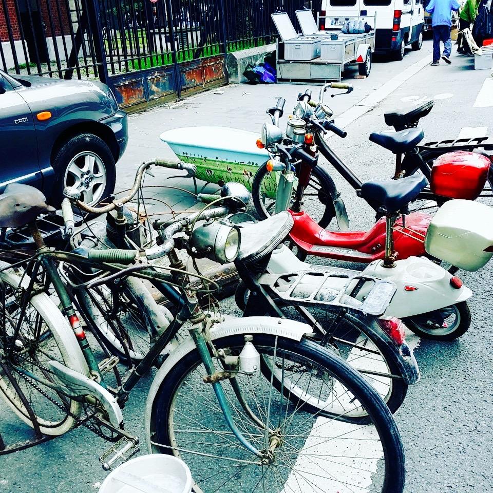 BradeRie de Lille : deux-roues vintage