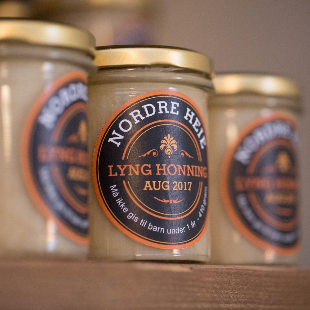 Honning med en smak av høst