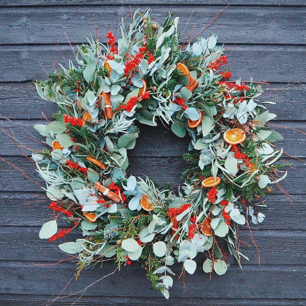 Mud Christmas Wreath Making Workshop With Festive Treats Mud
