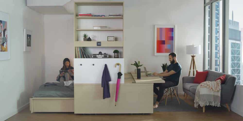 ... And Opening Up The Living Area When You Donu0027t. The Ori Studio Suite  Simulates The Functionality Of Multiple Rooms In A Single, Small, Efficient  Space.