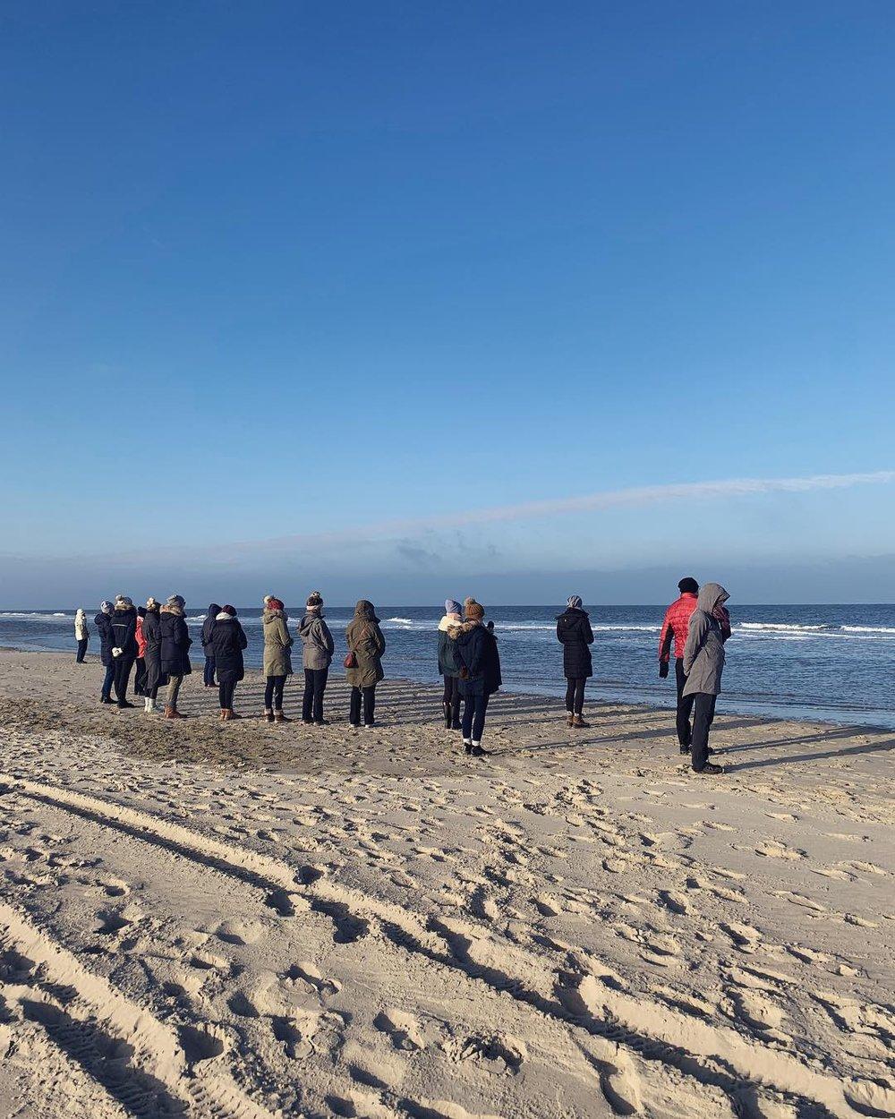 Walking Meditation am Strand