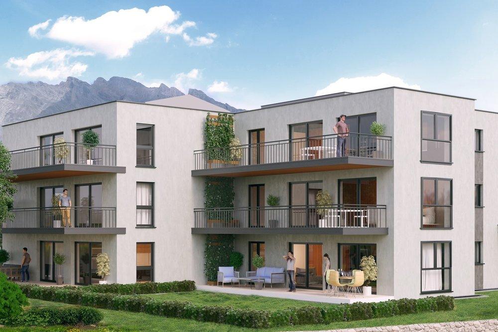 Appartement avec une vue magnifique - Lieu : ChamosonPrix de vente : Dès Frs. 435'000.-Nombre de pièces : 3 pièces 1/2
