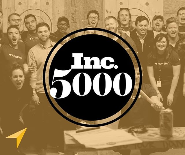 We made Inc. 5000 for the 3rd year in a row! This is another big win for our team and our community. Let's keep growing! Start your career at about.adwerx.com/careers