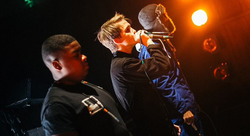 A behind the scenes look at the inspirational Battersea Arts Centre Beatbox Academy with actor, writer, director, rapper, beatboxer, singer and theatre maker Conrad Murray