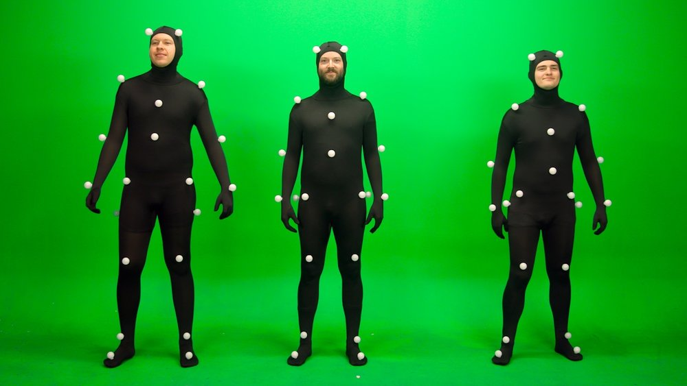 A conversation with DFX student Jordan Carter about the intriguing world of motion capture