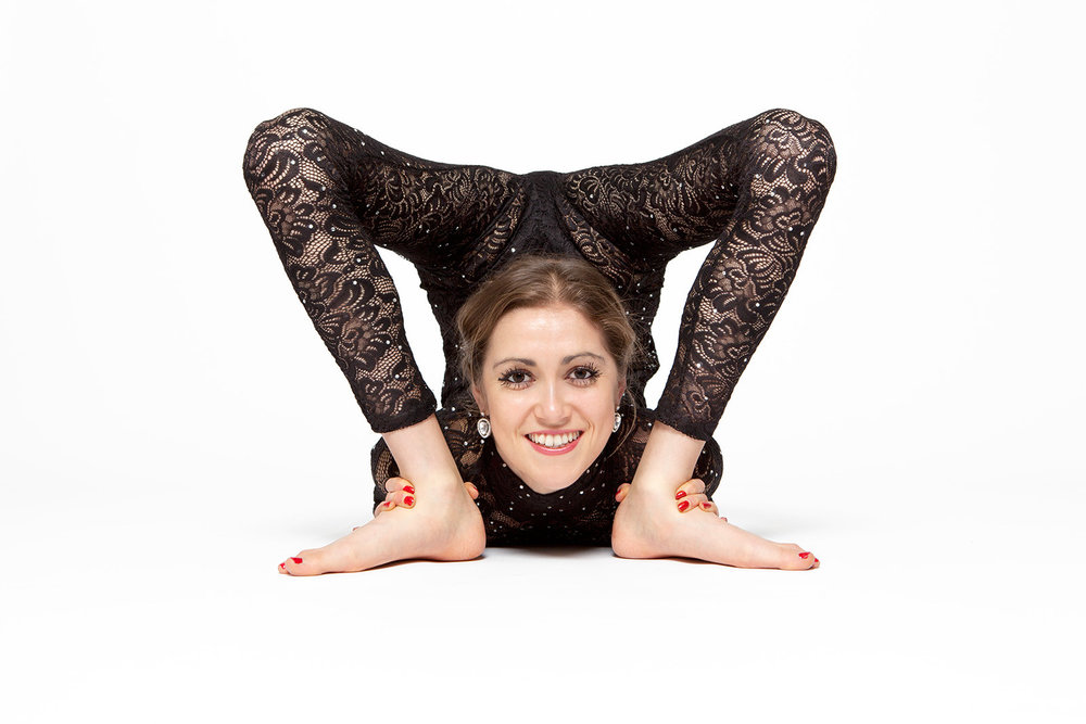 An astoundingly flexible performance from Claudia Contortionist