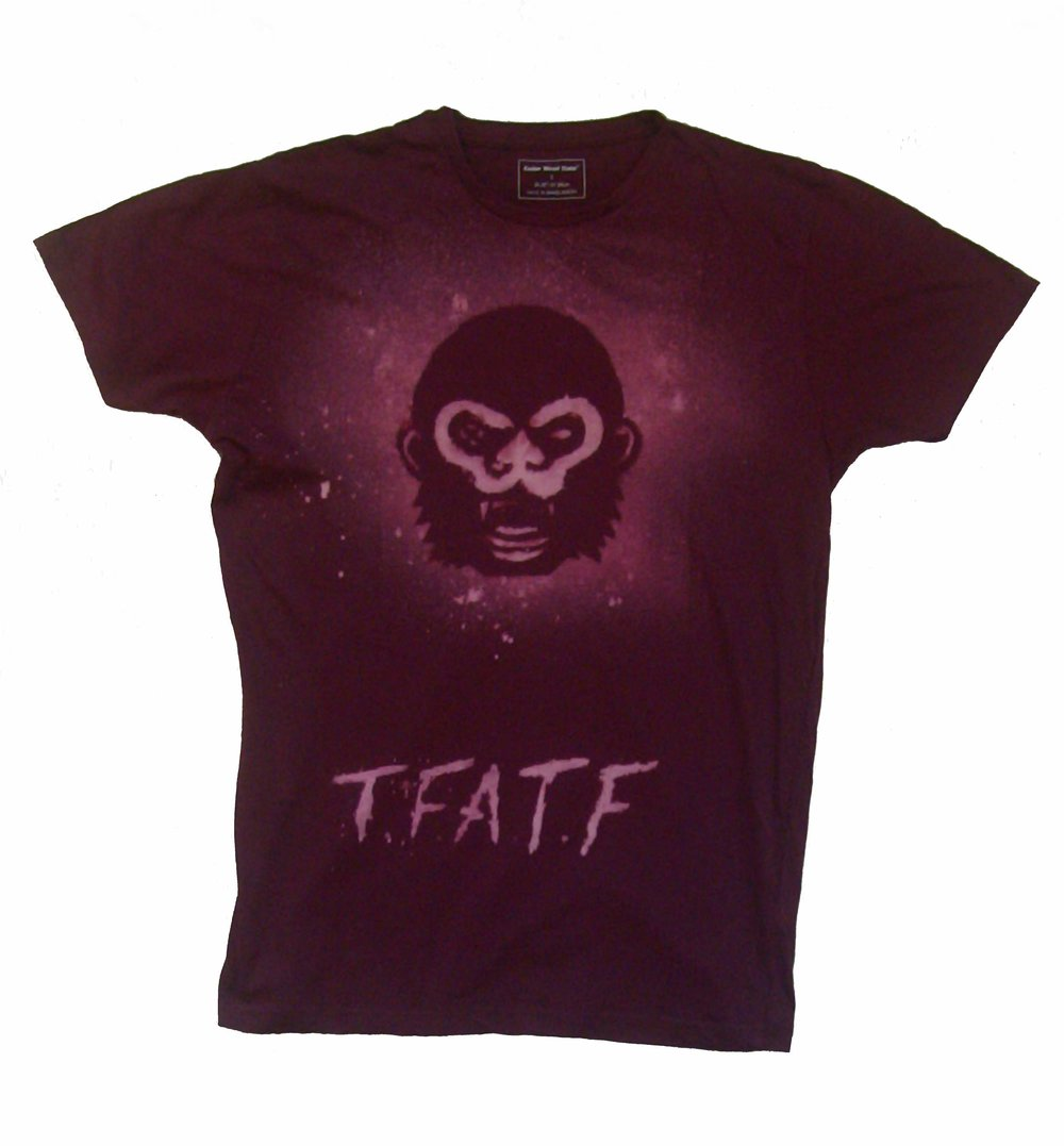 Bald Apes T-Shirt - Hand dyed by us in a variety of colours and sizes