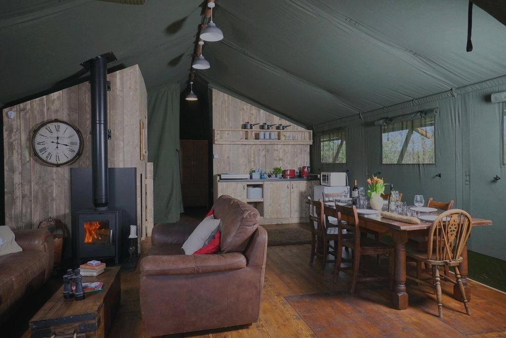 Get out the   board games    Book  Gilestone Glamping >>