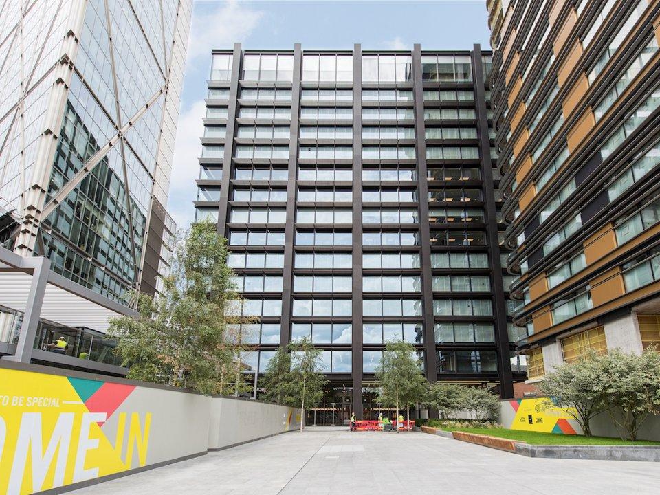 Amazon's HQ in London. (Amazon)