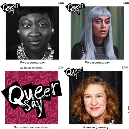 #queersaylondon Only a few days away from Queersay London No2. Join us at @the2brewers on Thursday as we discuss Visibility with @ladyphyll, @asifalahore and @thelucicat. Don't forget you as the audience will get to have your Queersay at the Queersay Fishbowl! To get your £6 ticket just follow the link or click the get ticket button on our page!  bit.ly/QueersayNo2 . . . #visibility #queersay #wearequeersay #London #Lgbtq #conversation #talk #event #fishbowl #bringtheconversation #thetwobrewers #clapham #gaylondon #gaybar #gayclub #queertalk