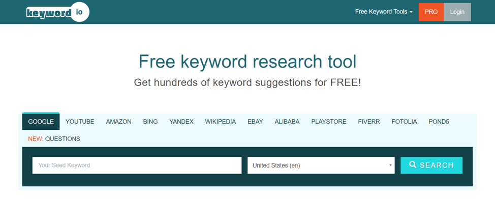 #3 Best SEO Tool for Keyword SEARCH, PLANNING, and IDEAS.