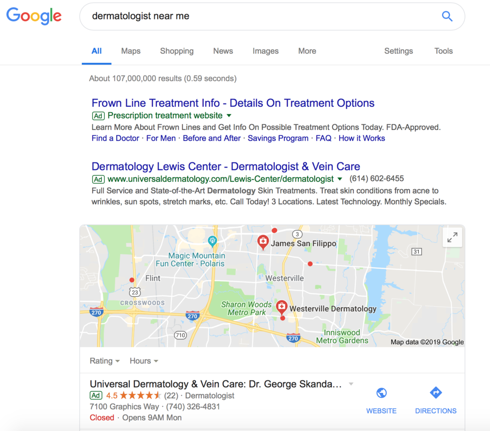 Dermatologist seo can bring in more patient leads.