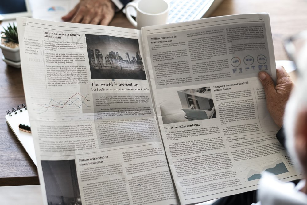 Dermatology newspaper ads: examples and how to utilize local marketing.