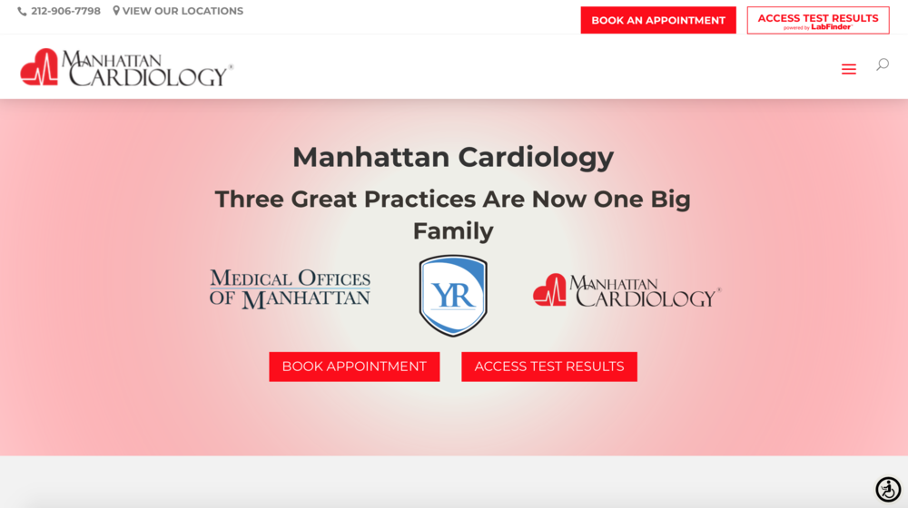 Best Website Designs For cardiologists