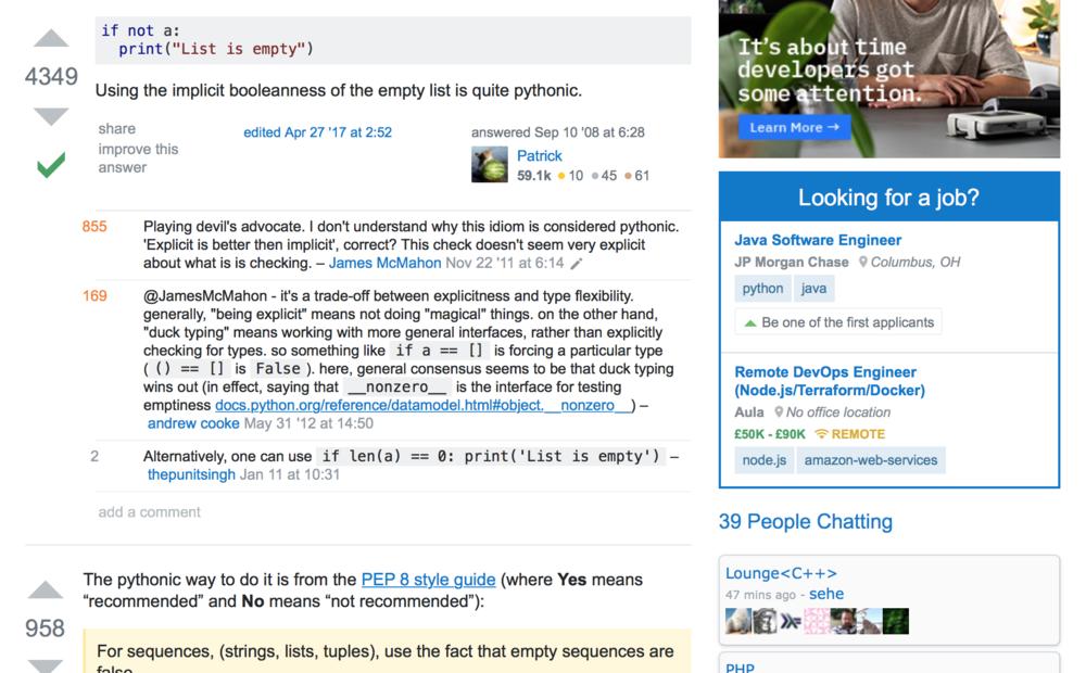 Patrick Popular Stack Overflow contributors