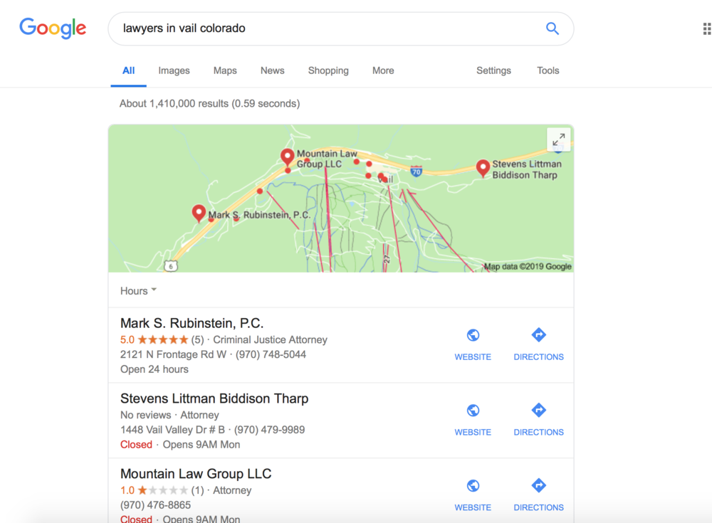 Google My Business strategies to help your law firm marketing.