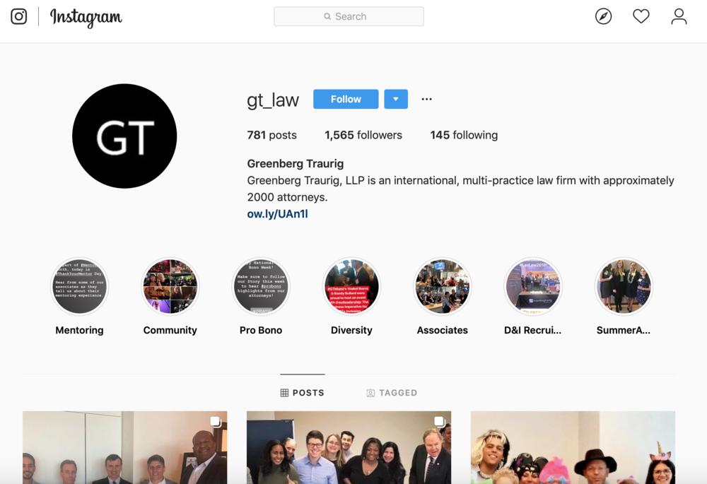 Law Firm Social Media Strategies for Instagram
