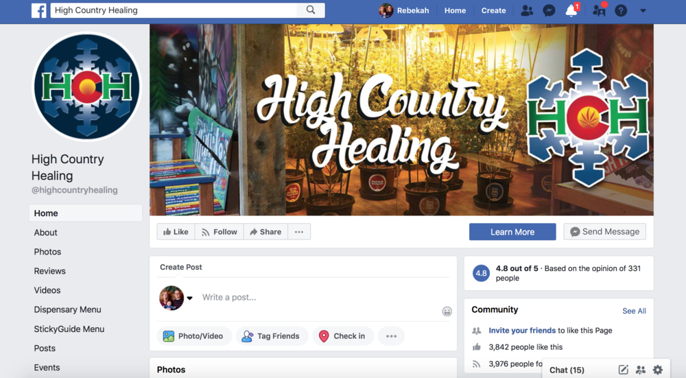 Facebook strategies for cannabis marketing