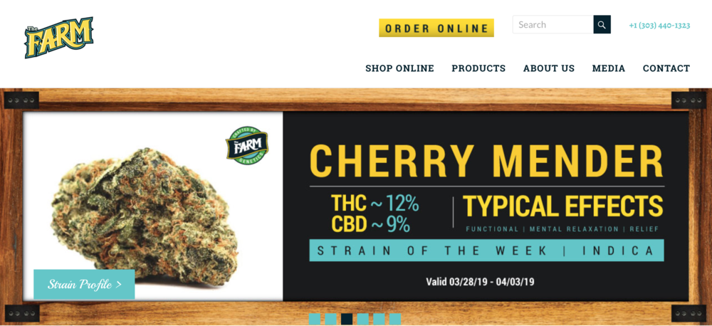 Online marketing strategies for cannabis websites.