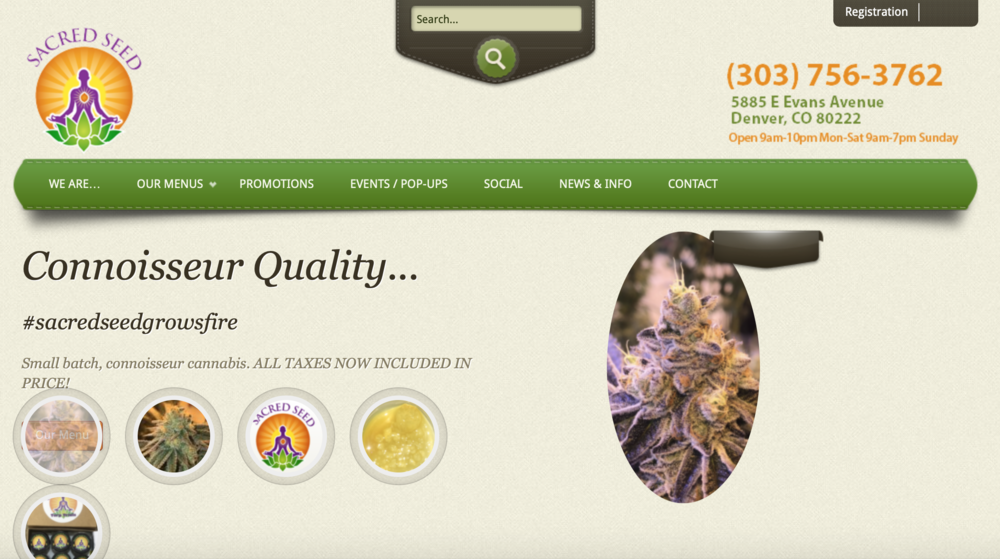 Marijuana marketing websites that are successful