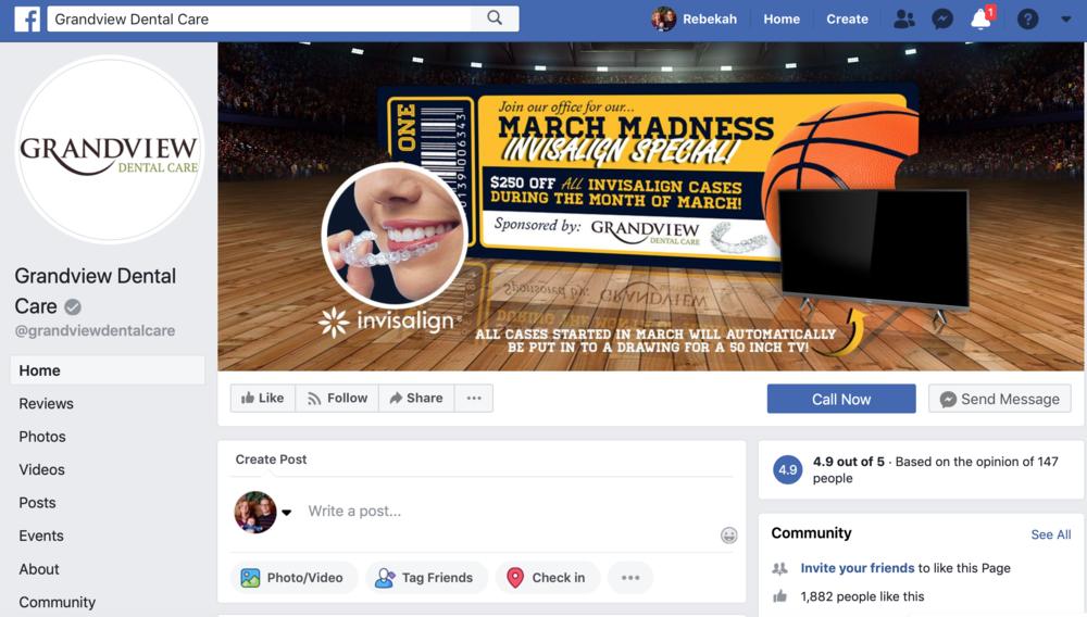 Dentist marketing ideas for social media marketing on facebook