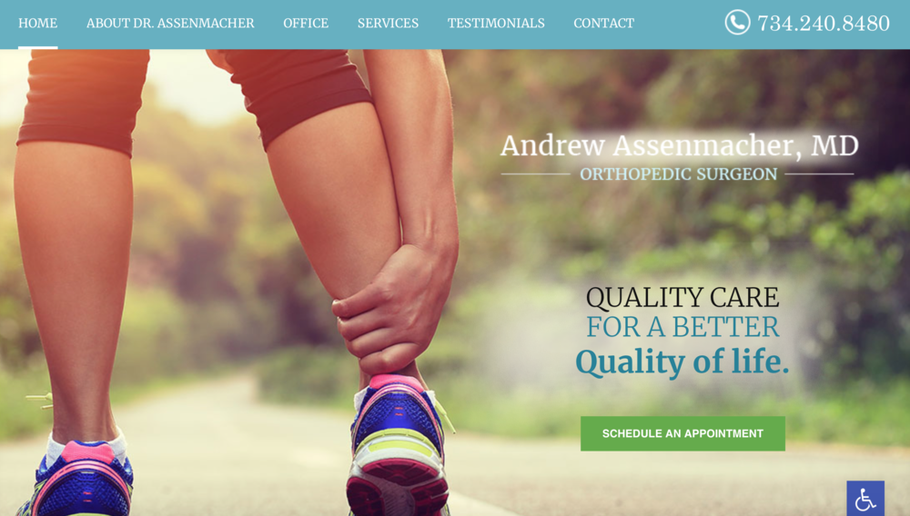 Orthopedic marketing ideas for your website