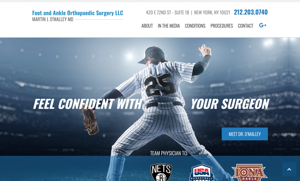 How to create an Orthopedic website strategy