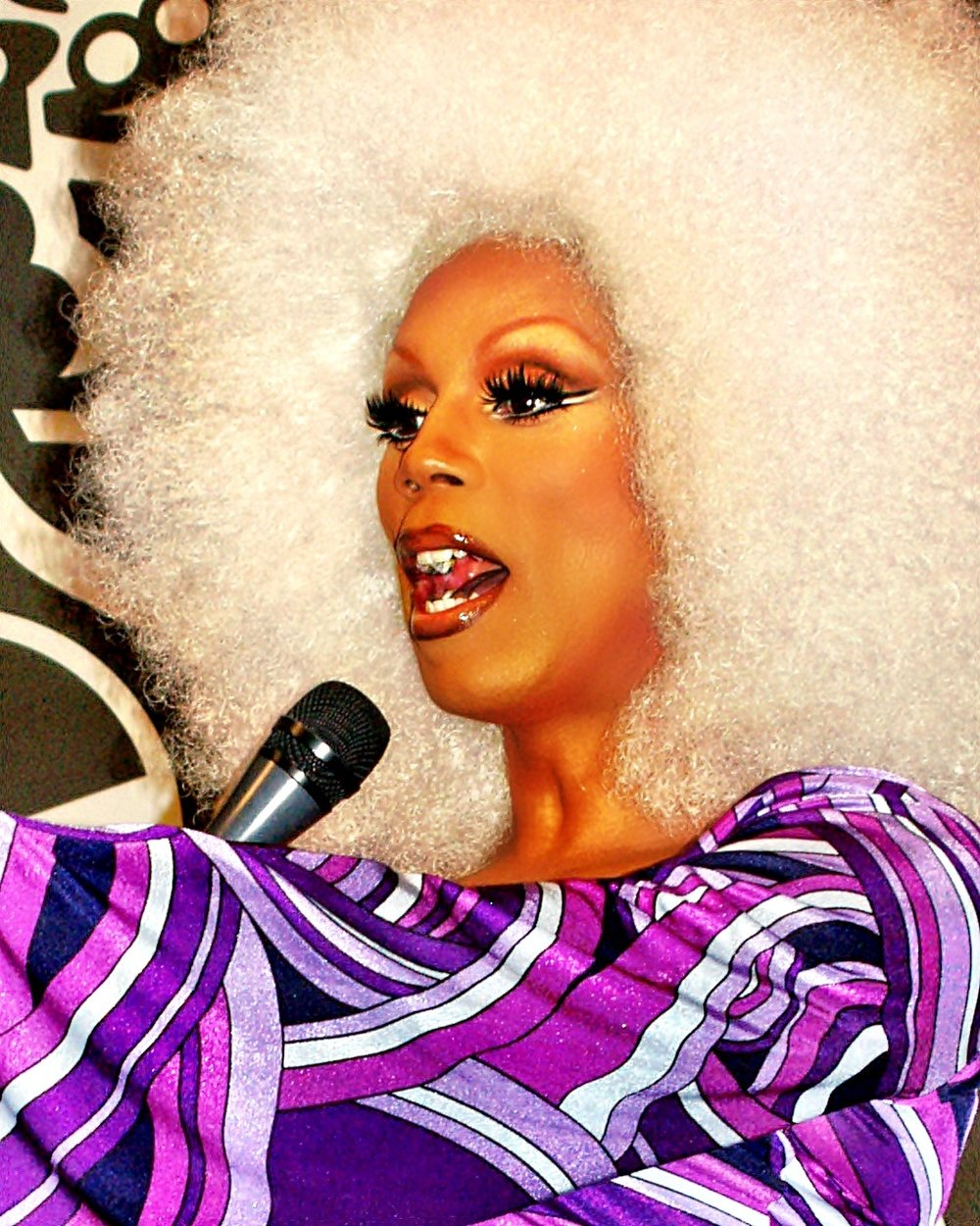 RuPaul Charles in 2007, by  David Shankbone