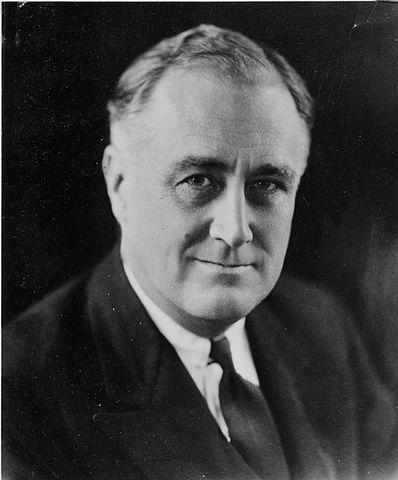 President Franklin D. Roosevelt in 1932