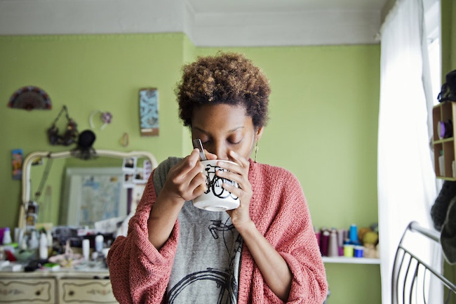 Woman Drinking Tea.jpg