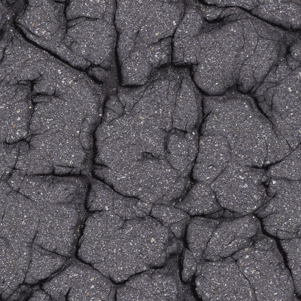 Alligator Cracks - Interconnected cracks forming a series of small blocks resembling an alligator's skin or chicken-wire, and caused by excessive deflection of the surface over unstable subgrade or lower courses of the pavement.
