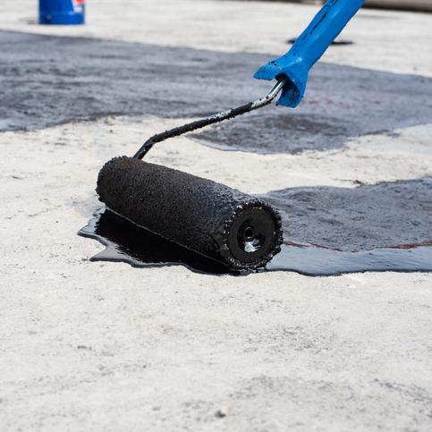 Asphalt Primer - Low viscosity asphalt (highly liquid) that penetrates into a non-bituminous surface upon application.