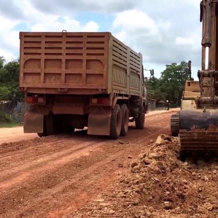 Subgrade - The soil prepared to support a pavement structure or a pavement system. It is the foundation of the pavement structure.